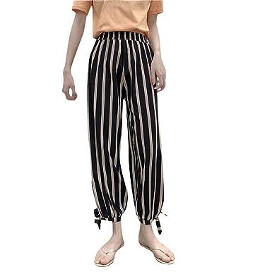 Cocoty-store 2019 Mujer Casual Cintura Alta Elasticidad Pantalones ...