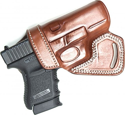 Cebeci 20894RT56 Right-Hand Leather Small of The Back (SoB) 20894 Holster  Gun Belt, Tan