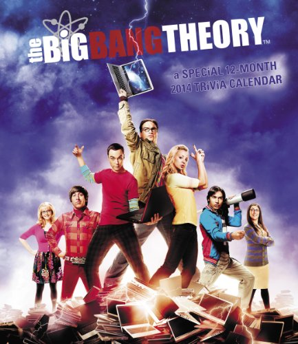 2014 The Big Bang Theory Poster Wall Calendar by Warner Bros Consumer Products