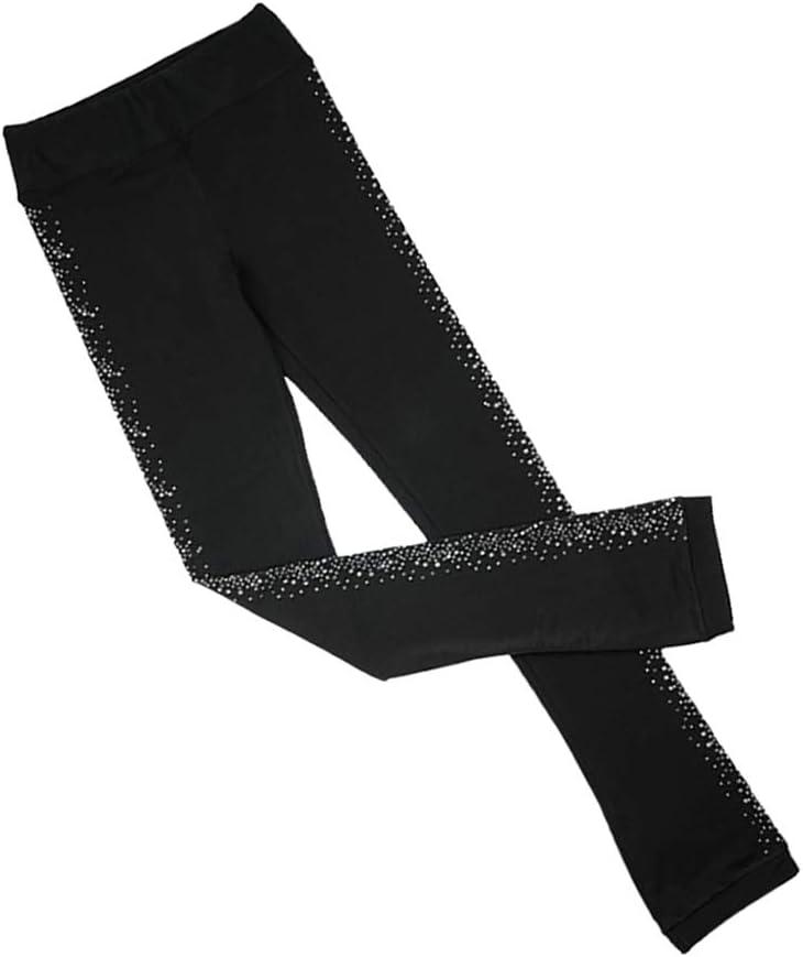 T TOOYFUL Thermische Eiskunstlaufhose Hosenstrumpfhose Leggings F/ür M/ädchen Frauen