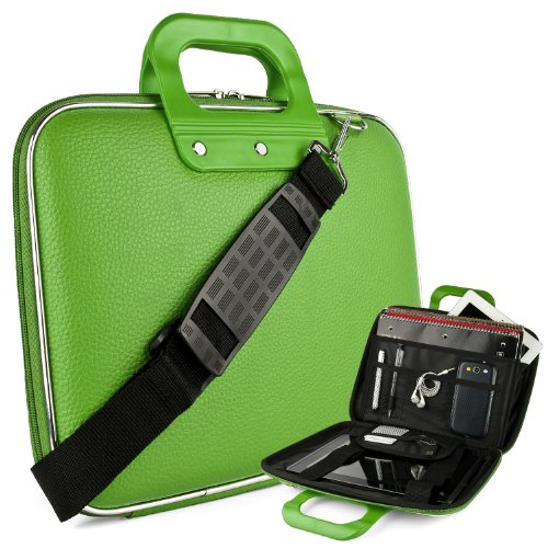 Cady Messenger Cube Lime Green Ultra Durable Tactical Lea...
