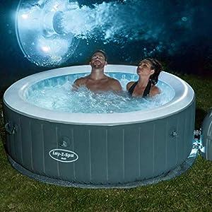 Adulti Bagno Turco Ispessimento Termostatico Massaggio Pieghevole Whirlpool Famiglia Gonfiabile Spa È Il Vasche… 51PZ8UlQanL. SS300