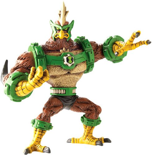 Amazon ben 10 omniverse kickin hawk vinyl figure toys games voltagebd Images