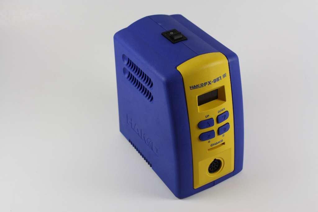 Hakko FX951-66 T15-D08,D12,D24,D32,D52 Soldering Station with Chisel Tip T15-D08/D12/D24/D32/D52, Blue/Yellow by Hakko (Image #2)