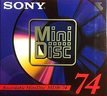 16 Sony Minidisc MD 74 mit Orginalhülle alles Klebefrei !
