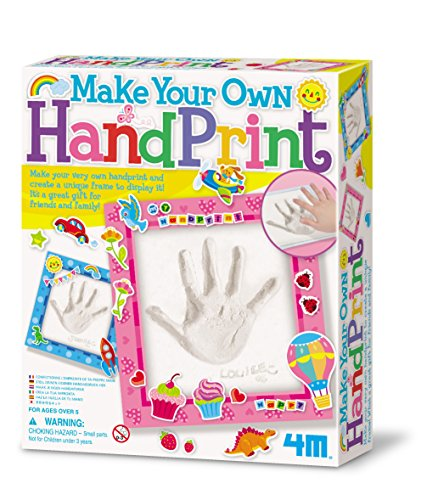 Kids Plaster (4M Hand Print Art)