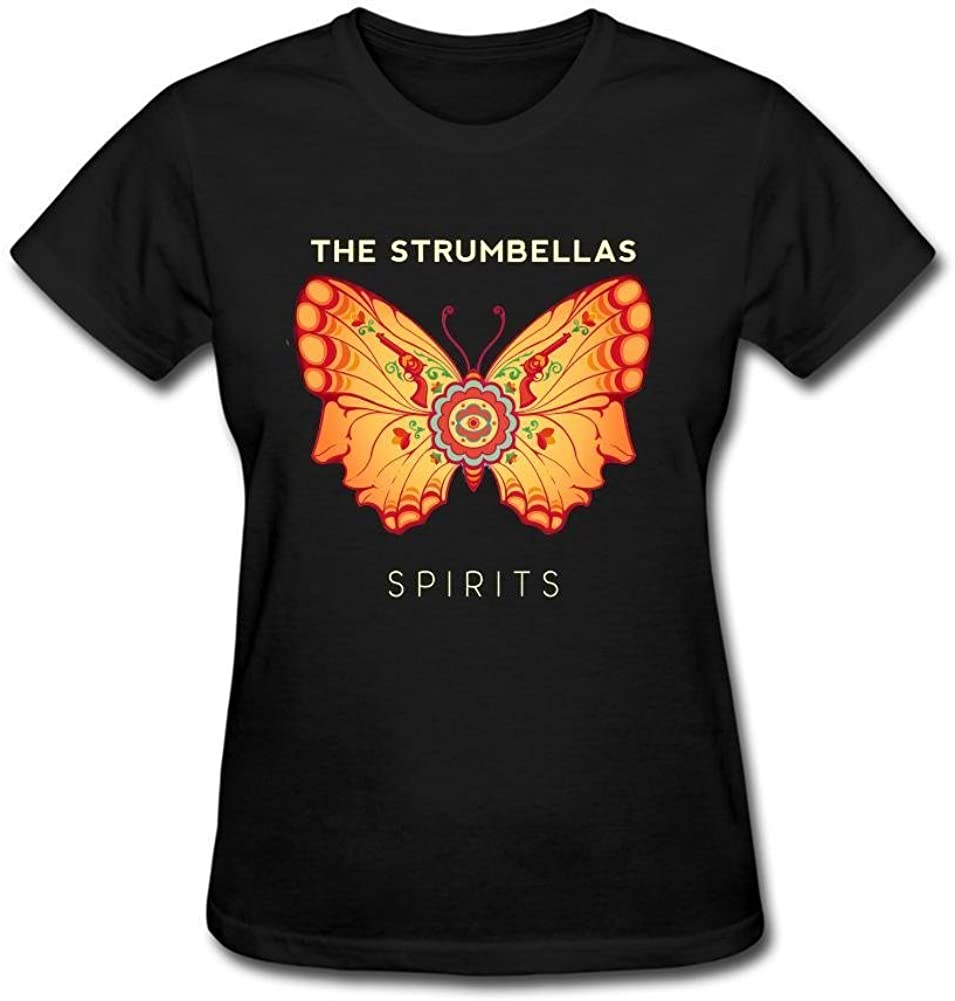 Kittyer The Strumbellas - Camiseta de algodón para Mujer (Talla XXL)