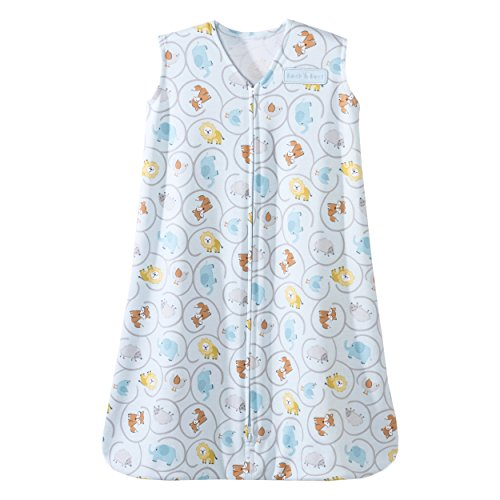 Halo SleepSack Cotton Wearable Blanket, Animal Swirl, Small