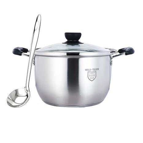 LULUDP Batería de Cocina Sartenes y ollas Olla de Sopa ...