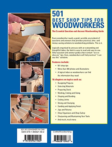 501 Best Shop Tips For Woodworkers The Buy Online In Kuwait At Desertcart