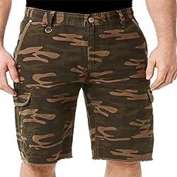 Buffalo David Bitton Higgins Cargo Shorts Olive 38