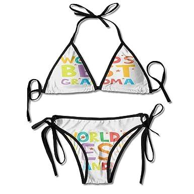 Amazon.com: kjhep lk - Bikini con correa desmontable, la ...