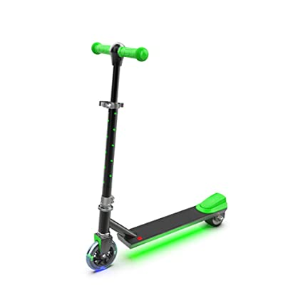 Thole Patinete Luz Led Flash NiñO EléCtrico Tipo Scooter con ...
