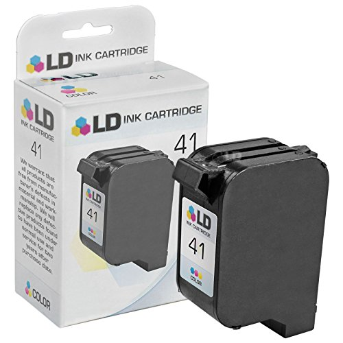 LD Remanufactured Replacement Ink Cartridge for Hewlett Packard 51641A (HP 41) Tri-Color - 1150cse Ink