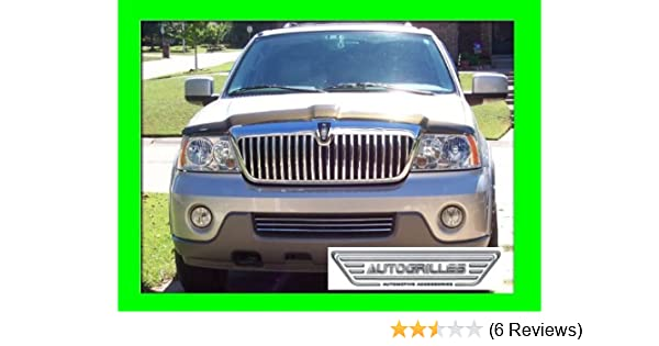 Fits For Lincoln MKX 2016-2018 ABS Chrome Car Styling Center Grille Grill Trim