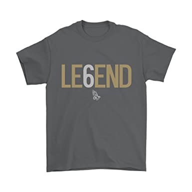 96078cb5d Amazon.com: Drake Legend Six 6 OVO Toronto T-Shirt: Clothing
