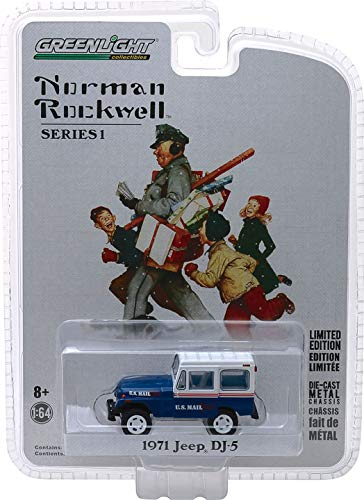 Greenlight Norman Rockwell Collection Series 1 1971 Jeep DJ 5