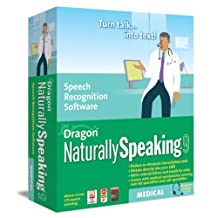 Dragon NaturallySpeaking Medical 9 Upgrade from Professional
