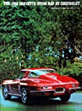 1966 Corvette Sales Brochure (With Decal)
