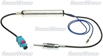 Peugeot 207 307 407 607 amplificada Fakra antena coche Pc5 ...