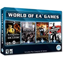The World of EA Games: Black & White Deluxe / Medal of Honor Allied Assault / Lord of the Rings - Return of the King / Freedom Fighters