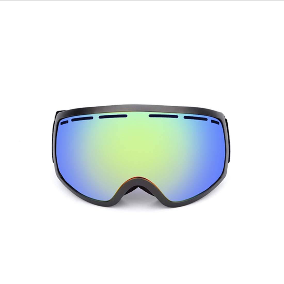 JESSIEKERVIN YY3 Gafas de esquí Lentes Anti-vaho Gafas de Alpinismo a Prueba de Viento (Color : Blue)