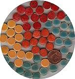 Mosaic-Minis Round Stones Ø10mmx3mm,Mix Varied 365 Micro