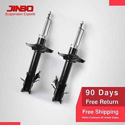 Mgpro New 1 Pair Front Suspension Gas Shock Absorber Struts Assembly Kit For 02-06 Nissan Sentra SE-R,SE-R Spec V