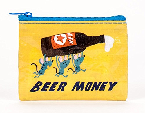 Beer Money Coin Purse 4 x 3in