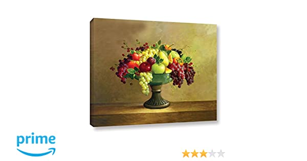 Welby Potted Orange Tree Gallery Wrapped Canvas 18X24