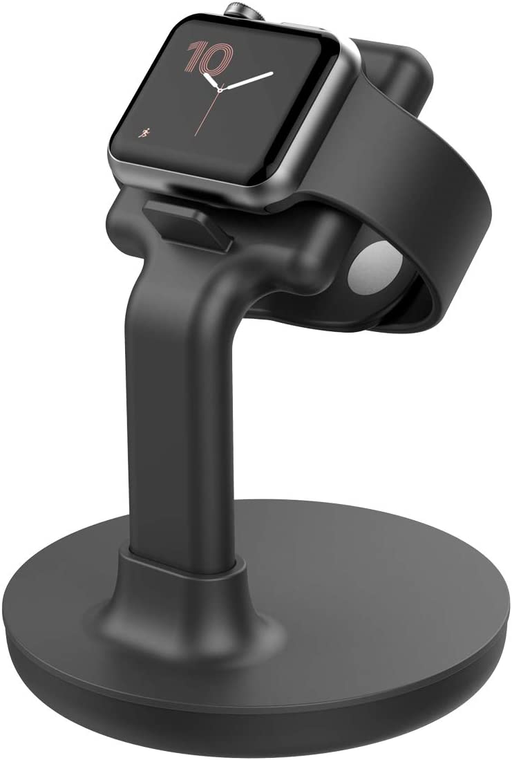 Apple Watch Charging Stand-Apple Watch Charger Stand Compatible Watch SE/Series 6/ Series 5 / Series 4 / Series 3 / Series 2 / Series 1; 38mm/40mm/42mm/44mm Apple Watch Dock