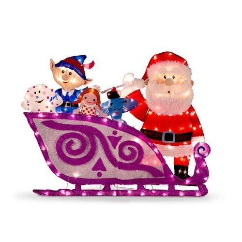 Santa's Sleigh with Misfit Toys by Misfits
