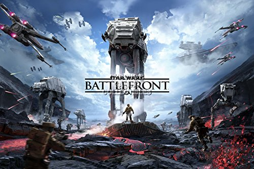 CGC Huge Poster - Star Wars Battlefront - PS4 XBOX ONE - SWB011 (24