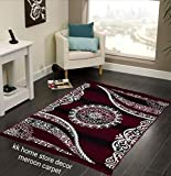 "Kk Home Store Decor Royal look Carpet - |60"" inch x 84"" inch 