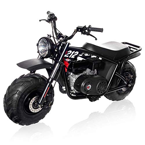 Mega Moto MM-B212-RB With With Suspension 7.5HP Classic 212CC Mini Bike ()