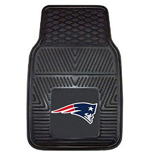 NFL New England Patriots Car Floor Mats Heavy Duty 4-Piece