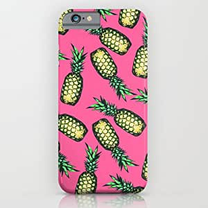 Pink Pineapples Hard Back Cover Fit For Iphone 4/4S