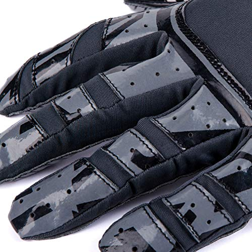 Pure Athlete Football Gloves - Elite-Stick Silicone Gripping Technology