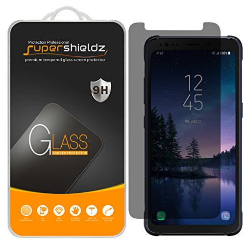 "[2-Pack] Supershieldz for Samsung ""Galaxy S8 Active"" (Not Fit For Galaxy S8 / S8 Plus Model) Privacy (Anti-Spy) Tempered Glass Screen Protector with Lifetime Replacement Warranty"