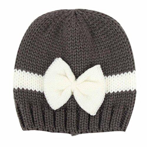 Noir Mois Laine Crochet Au De À Pour Tricoter 0 12 Bébé Chapeau Amlaiworld w7xBz