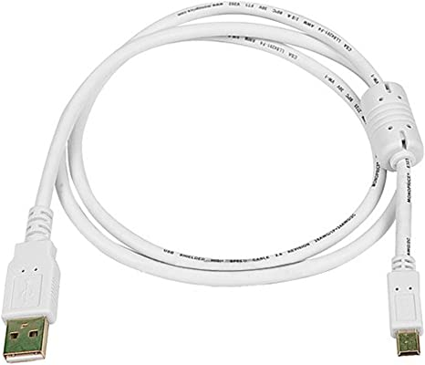 10 Feet  USB 2.0 A Male to 5pin mini-B Male Cable w// Ferrite