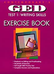 Contemporary's Ged Test 1 : Writing Skills: Exercise Book