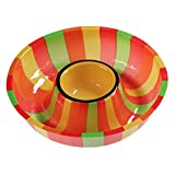 Creative Converting Plastic Fiesta Chip and Dip Tray