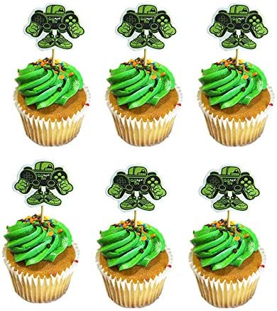 Plates Video Game Birthday Party Decoration and Supplies Balloons Napkins Cups Straws Tableware Utensils Serves 16 Guests 142 PCS Cupcake Toppers Banner Happy Birthday Video Game Backdrop