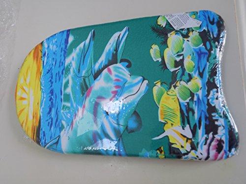Boogie Board Kick Board Child Sized 17 X 11″ X 3″ Dolphin Design