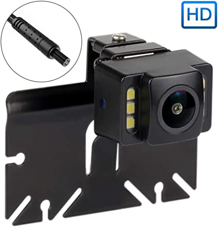 Car Auto Back Camera Waterproof 140 Degree Screw Mount IR Night Vision Non-Mirrored Image Without Scale Lines