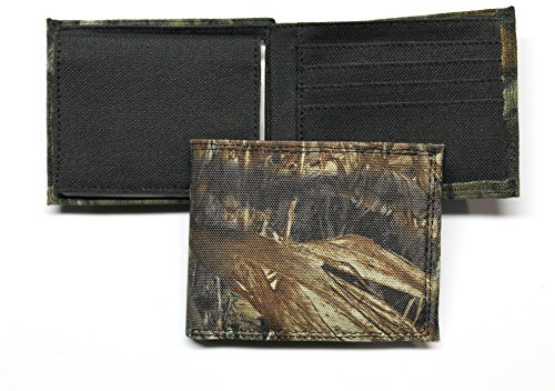 Duck Money Clip - Camo Bifold Wallet - Mossy Oak Duck Blind Pattern