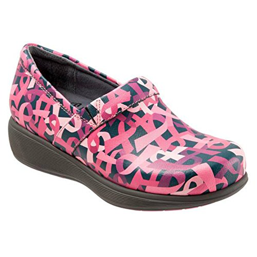 Softwalk Vrouwen Meredith Klomp Roze Linten