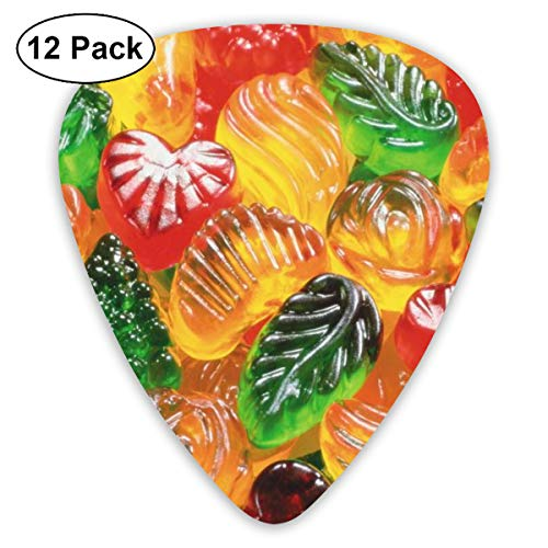 Leaf Candy Suitable for Electric Guitars, Acoustic Guitars, Guitar Selection 12 Pieces. ()