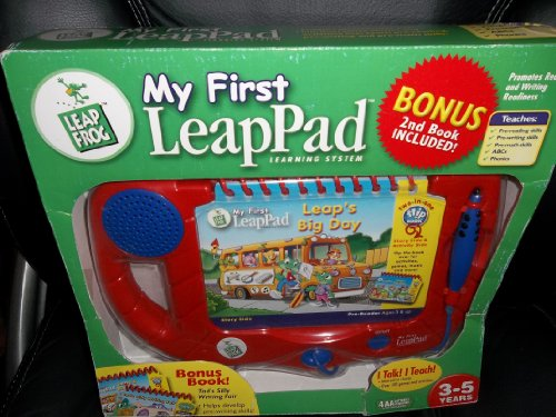 My First LeapPad Learning System with Bonus 2nd Book Tad's Silly Writing Fair by LeapFrog